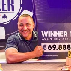 Hakim Zoufri Wins 2017 WSOPC Rotterdam High Roller