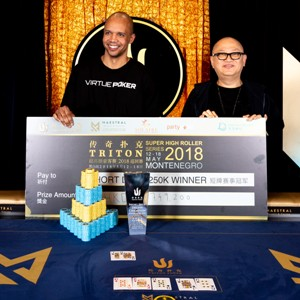Phil Ivey Takes Down Short Deck Event in Montenegro for $605k