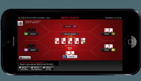Bovada mobile poker app