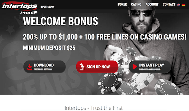 Intertops Poker Download