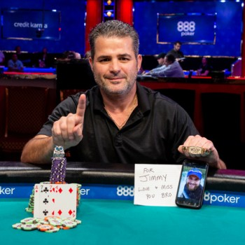 Filippos Stavrakis Dedicates WSOP PLO Bracelet to Late Brother Jimmy