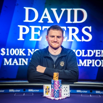 David Peters Wins 2018 Poker Masters Main Event for $1.15 Million