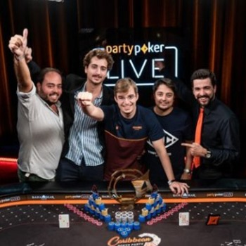 Filipe Oliveira wins Caribbean Poker Party $5,300 Main Event