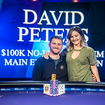 David Peters wins $100k Aria High Roller