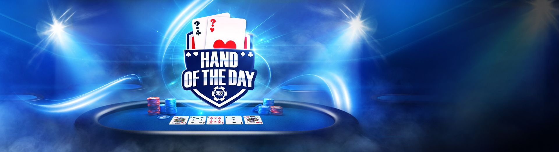 888 poker hand of the day
