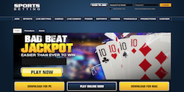 Sportsbetting Poker Review - Is It Rigged or Are They Safe?