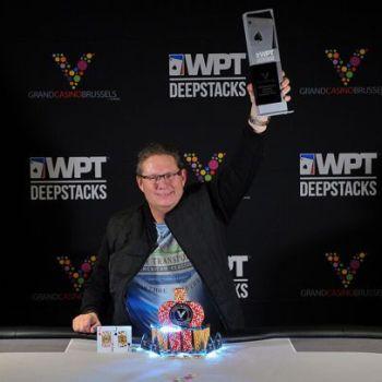 Danny van Zijp Wins 2018 WPT DeepStacks Brussels Main Event