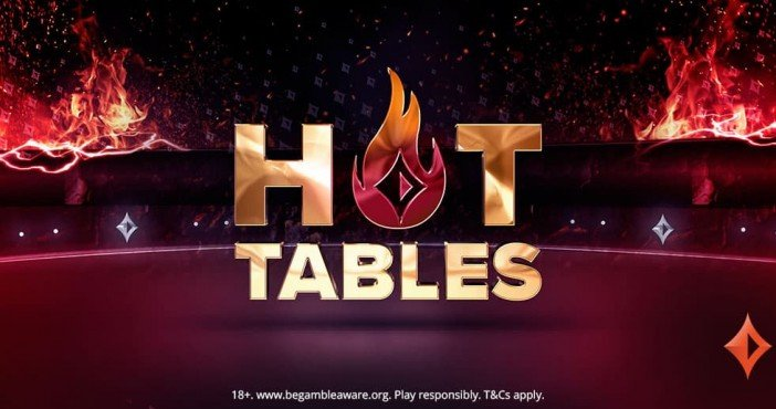 party poker hot tables